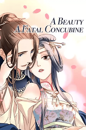 A Beauty, a Fatal Concubine Adult Webtoon Manhwa Cover