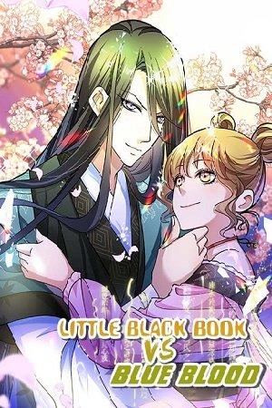Little Black Book vs Blue Blood Adult Webtoon Manhwa Cover
