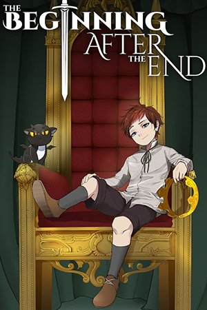 The Beginning After the End Adult Webtoon Manhwa Cover